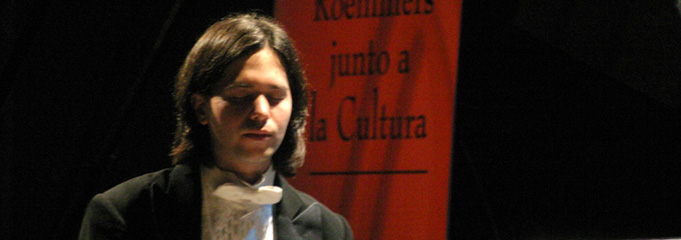 Horacio Lavandera - Roemmers and its Support to Cultural Arts
